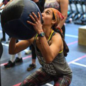 Jasmine Fitness Trainer At Gym In Jamaica Plain, Massachusetts